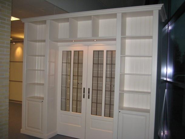 Deuren | boeken kast kamer en suite bron: heemskerkkasten.wordpress.com Door borun