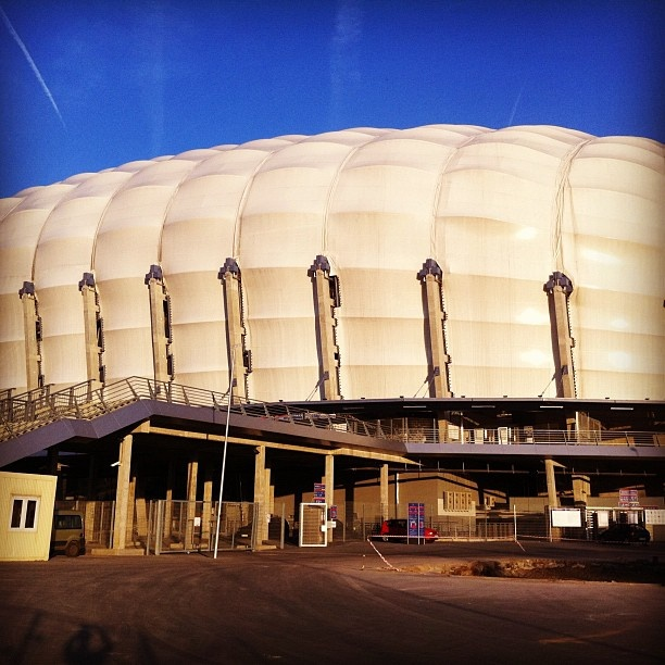 #Euro2012 #Poznan Football Stadium outside