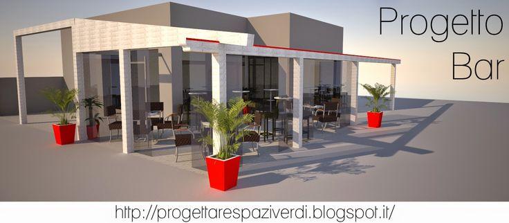 Progettazione aree esterne bar e ristoranti!  Rinnova gli spazi verdi della tua ttività per incrementare i guadagni. Blog progettare spazi verdi Architettura del paesaggio