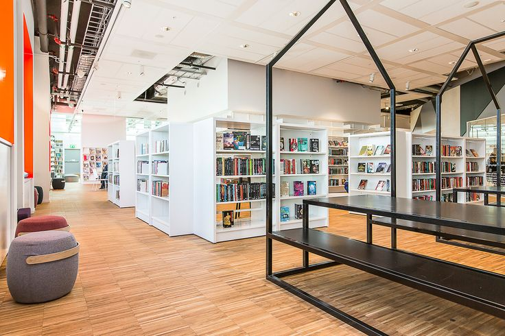 Kista Public Library, Sweden Library Inspiration Pinterest Public, Project projects and