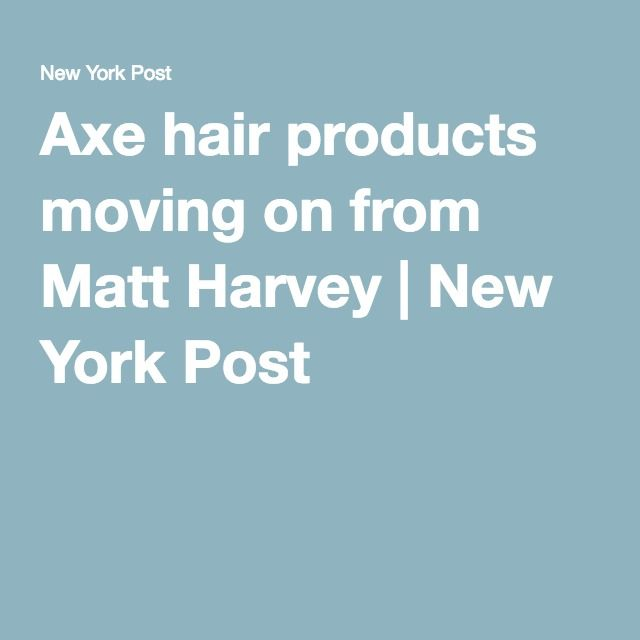 Axe hair products moving on from Matt Harvey | New York Post
