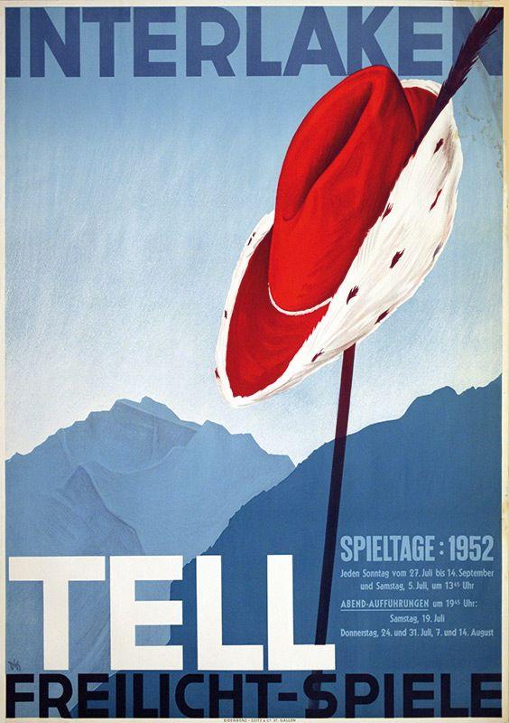Alex W. Diggelmann, Interlaken, 1952