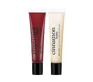Philosophy lip gloss! Christmas timmmeeee! gotta go with the cinnamon buns or the peppermint bark!