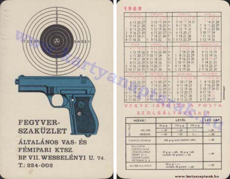 1969 - 1969_0313 - Régi magyar kártyanaptárak