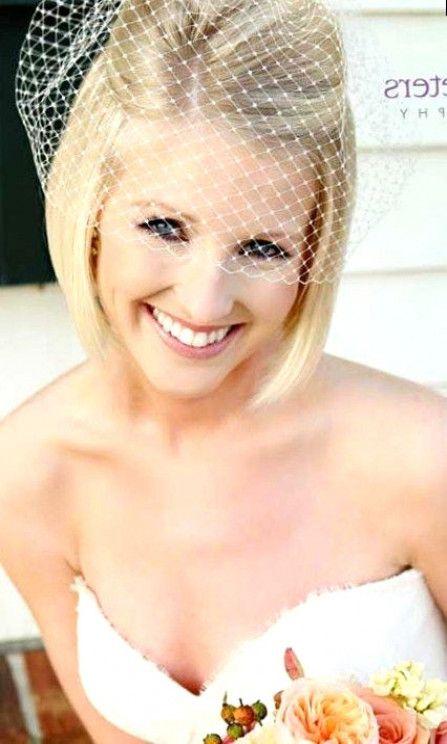 """40 besten kurzen Hochzeitsfrisuren, die Sie dazu bringen, """"Wow!"""" Zu sagen – Short Wedding Hair"""