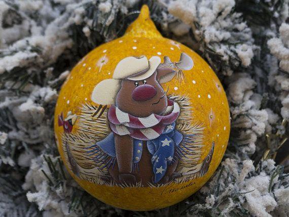 Addobbi Natalizi Vetro.Palla Di Natale Addobbo Natalizio Decoro Di Natale Palla Di Vetro Vetro Soffiato Dipinto A Mano Boccia Di Christmas Ornaments Christmas Bulbs Hand Painted