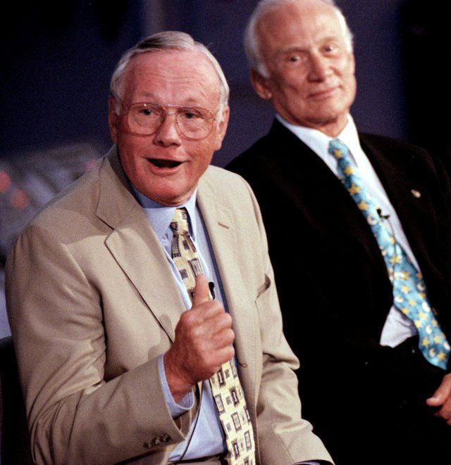 together buzz aldrin and neil armstrong - photo #30