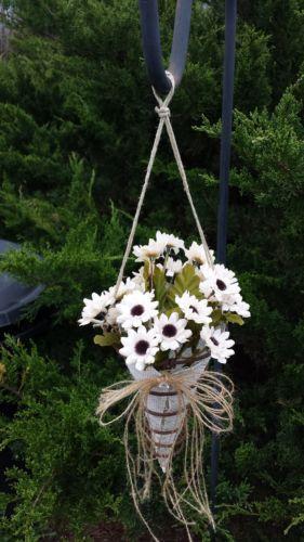 10 Handmade Burlap Rusty Bed Spring Rustic Wedding Aisle Hanging Decor | eBay