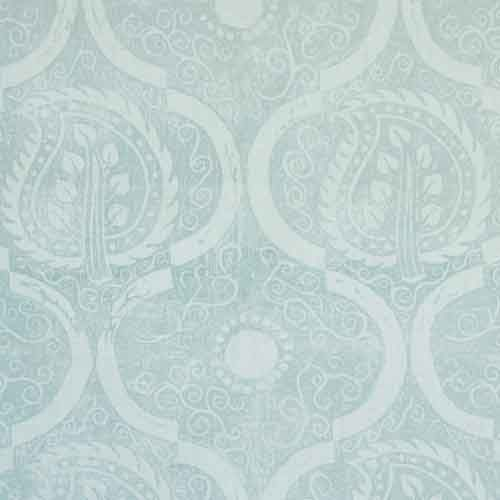 Blithfield Persian Leaf in Aqua.  This, or any of their block prints are lovely.