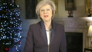 Theresa May new year message: EU referendum laid bare divisions  BBC News