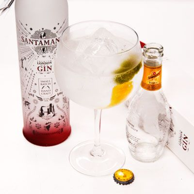 Gintonic Santamanía London Dry Gin