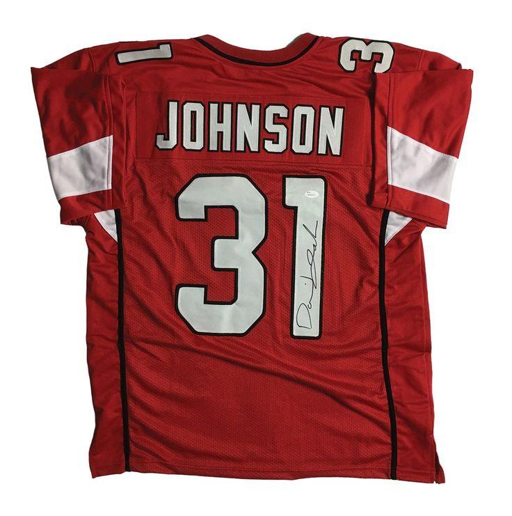 David Johnson Signed Arizona Cardinals Jersey (JSA)