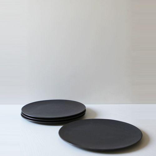 Modern line Round Flat Plate 28, Set of 4 / $223.20