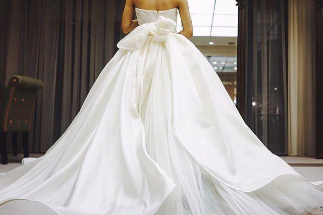 """Antonio Riva """"Sissi""""  #juno #junowedding #weddingdress #wedding #dress #antonioriva #ウェディングドレス #ウェディング #ドレス #アントニオリーヴァ"""