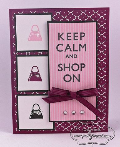 FMS36 - Shop On! by Cindy Hall - Cards and Paper Crafts at Splitcoaststampers