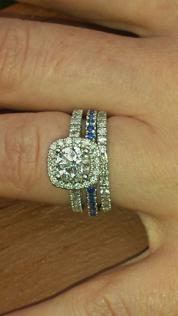 PD Engagement ring.  Police wife. Police wedding pictures. Thin blue line ring. wedding ring.