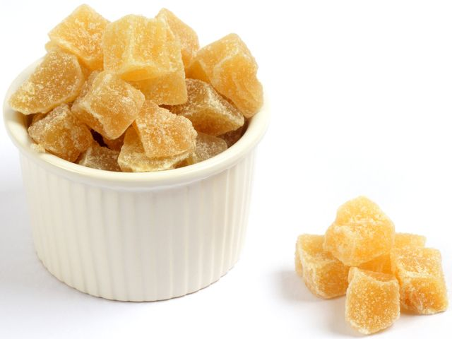 Make crystallized or candied ginger at home with a few simple ingredients. It's much better than store-bought and will last for 3 months.