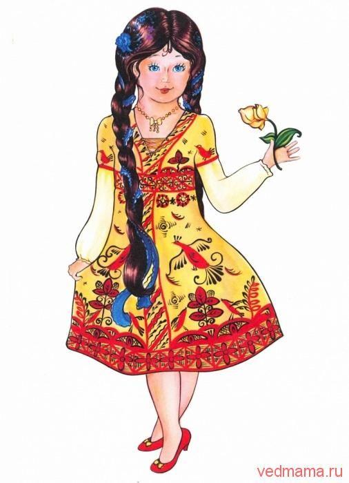 Мезенская роспись. Детские раскраски | ВЕДающие маМЫ