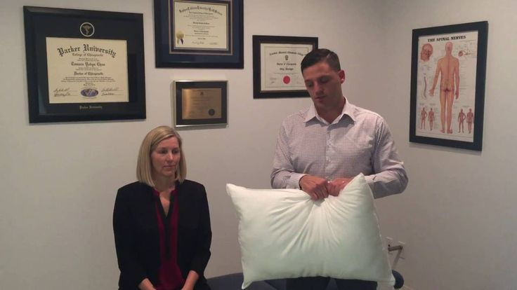 Calgary Neck Pain Doctor Reviews Best Pillow for Neck Pain