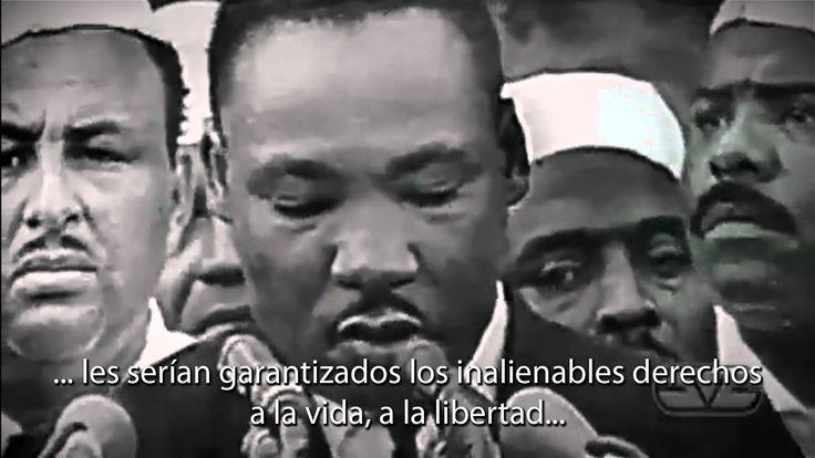 Derechos humanos, discurso Matin Luther King Tengo un Sueño
