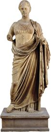 Marble statue of Themis from Rhamnous  ca. 300 BC.