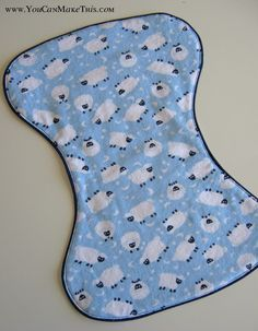 Free! Burp Cloth pattern, would make great baby shower gifts