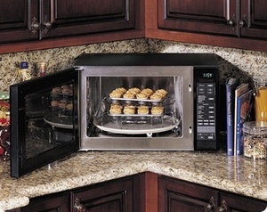 convection microwave: space saver