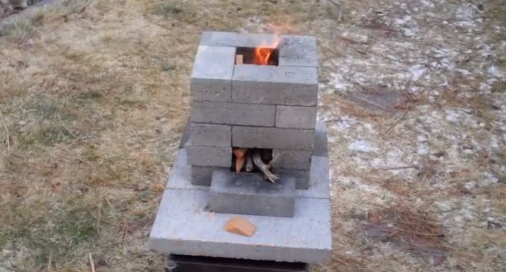 17 best images about do it yourself on pinterest string for How to make a rocket stove with bricks