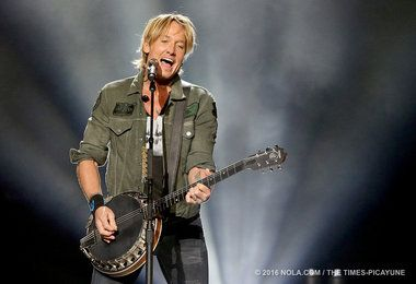 The country star performed at the Smoothie King Center on Oct. 15.