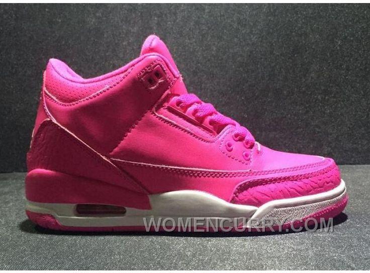 "https://www.womencurry.com/2017-girls-air-jordan-3-vivid-pink-for-sale-authentic-ejj3xn8.html 2017 GIRLS AIR JORDAN 3 ""VIVID PINK"" FOR SALE AUTHENTIC EJJ3XN8 Only $88.00 , Free Shipping!"