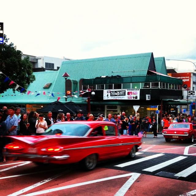 Taranaki, New Zealand becomes the centre of American car culture for the AmeriCARna festival