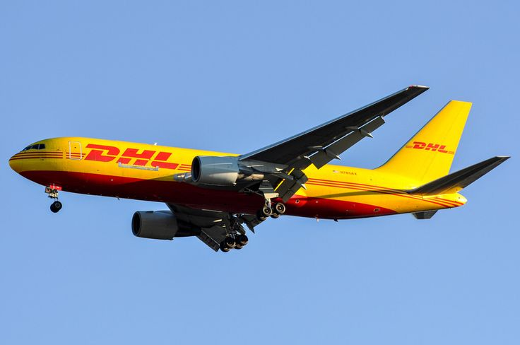 DHL 767-200F with a last minute holiday package delivery to SAN on Christmas Eve 2013.