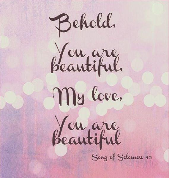 Song of Solomon 4 : 7