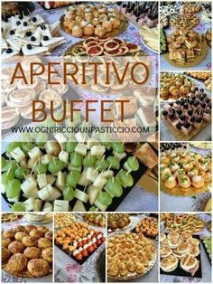economic ideas for a cocktail-buffet- idee economiche per un aperitivo-buffet
