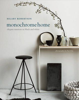 Monochrome HomeElegant Interiors in Black and White