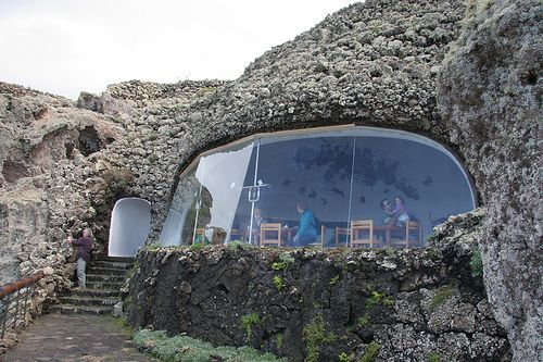 Mirador del Rio, Lanzarote,Canary islands, Spain. - while not a residence, it's a beautiful example of earth sheltered construction