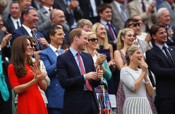 Kate Middleton Prince William Photos - Day Nine: The Championships - Wimbledon 2015 - Zimbio