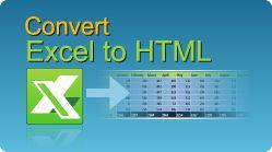 Convert Excel file to HTML in C#, VB.NET, Java, PHP, ASP classic, C++, C++.NET, VB6! XLS, XLSX, XLSM, XLSB spreadsheets by EasyXLS.  #EasyXLS #Convert #Excel #HTML #CSharp #VBNET #Java #PHP