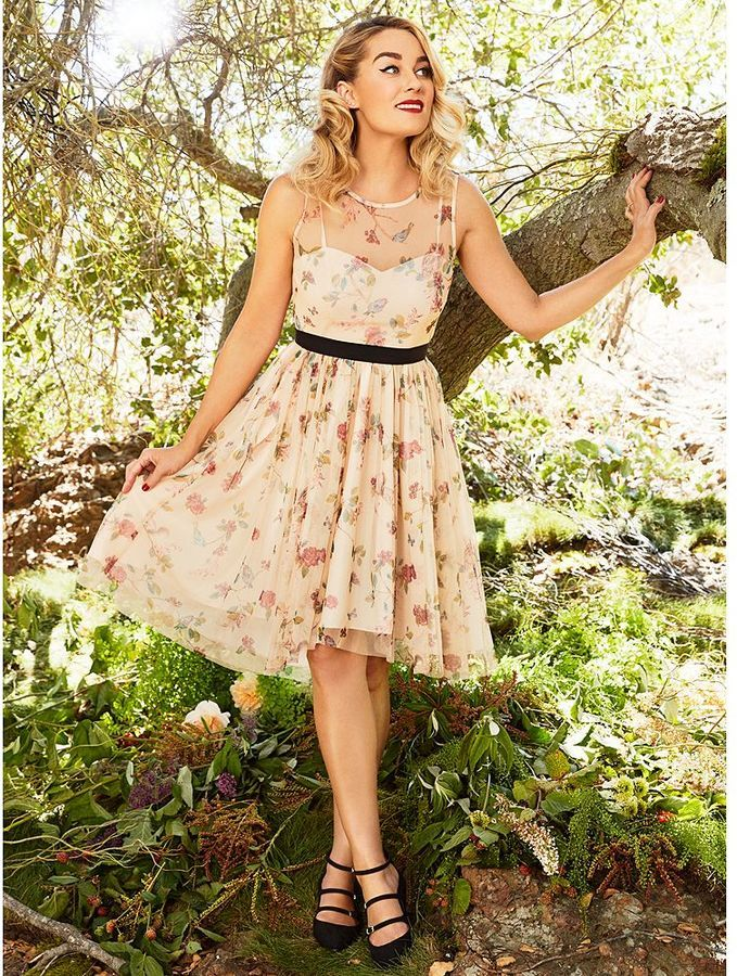 Disney's Snow White A Collection by LC Lauren Conrad Tulle Fit & Flare Dress - Women's