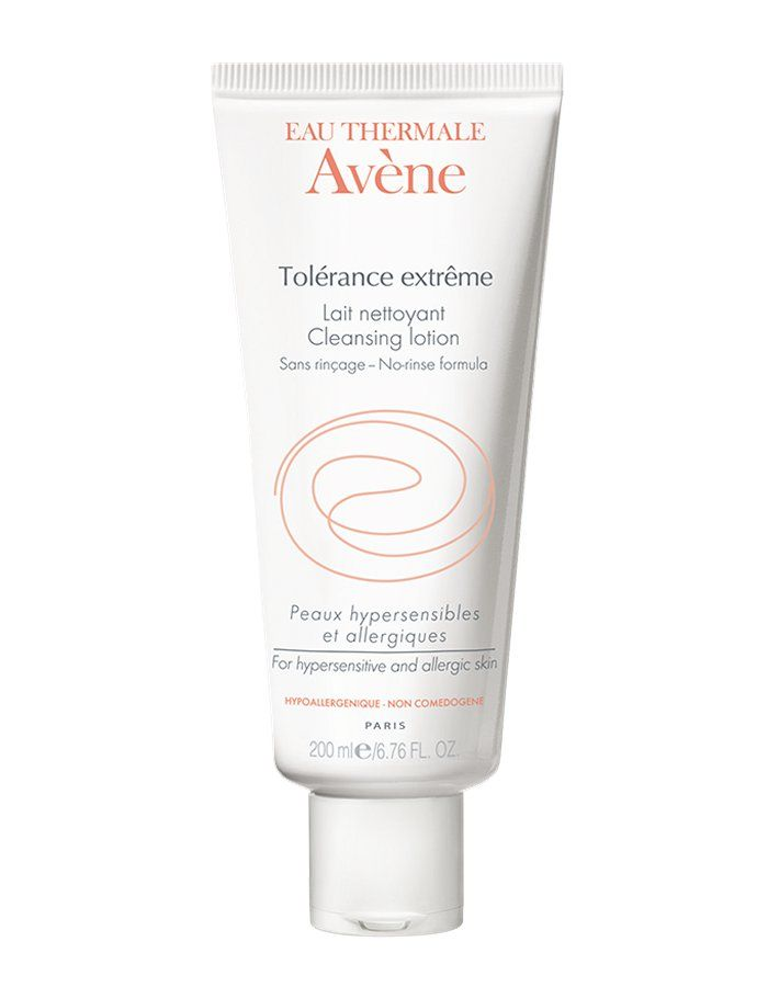 Avene Tolerance Extreme No-rinse Cleanser 200ml Suitable for all types of allergic, hypersensitive skin and skin reactions. Cleanses and hydrates the most demanding skins. A sterile conditioning process and sterile packaging in doses. Does not need http://www.MightGet.com/january-2017-11/avene-tolerance-extreme-no-rinse-cleanser-200ml.asp