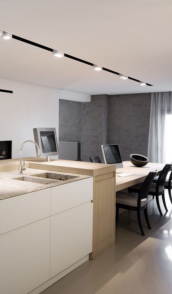 Timeless Loft Interior In Antwerp // Dennis T'Jampens | Afflante.com