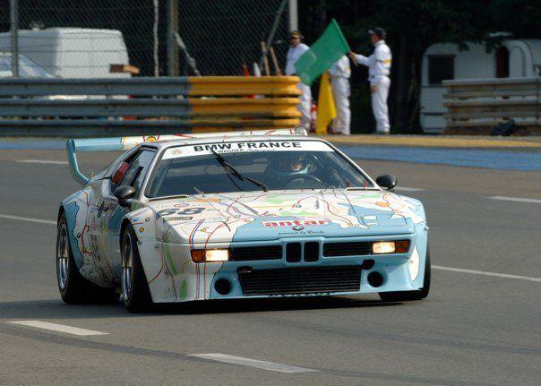 Didier Pironi bmw m1