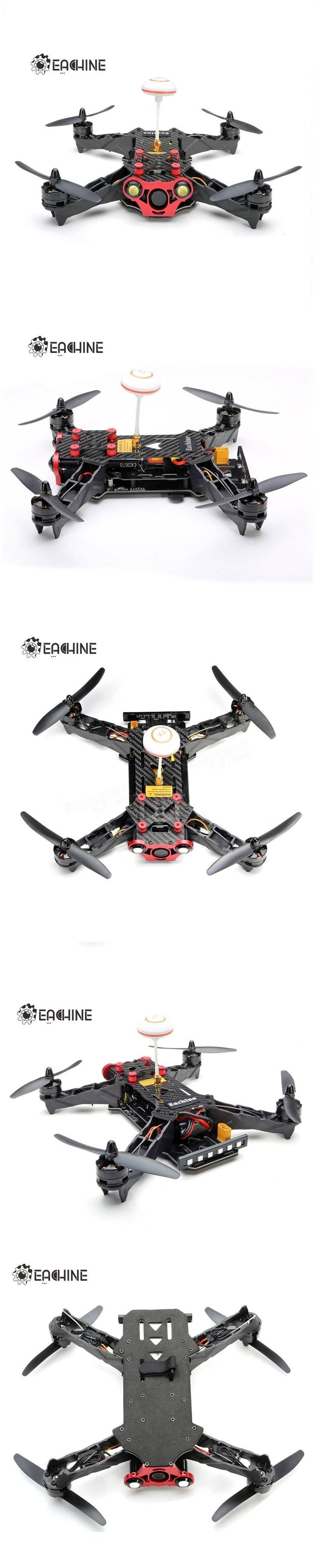 Eachine Racer 250 FPV Drone Built in 5.8G Transmitter OSD With HD Camera ARF Version Sale-Banggood.com #DroneTips