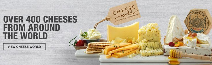 Cheddar, brie or mozzarella take your pick! Cos Checkers has it all. With over 400 cheeses on offer, you will never be in short supply.