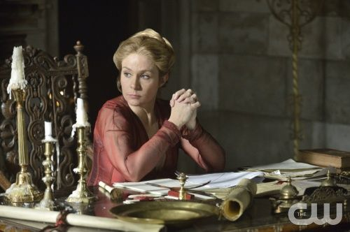 """Reign -- """"Liege Lord"""" -- Image Number: RE117a_0280.jpg -- Pictured: Megan Follows as Queen Catherine -- Photo: Ben Mark Holzberg/The CW -- © 2014 The CW Network, LLC. All rights reserved."""