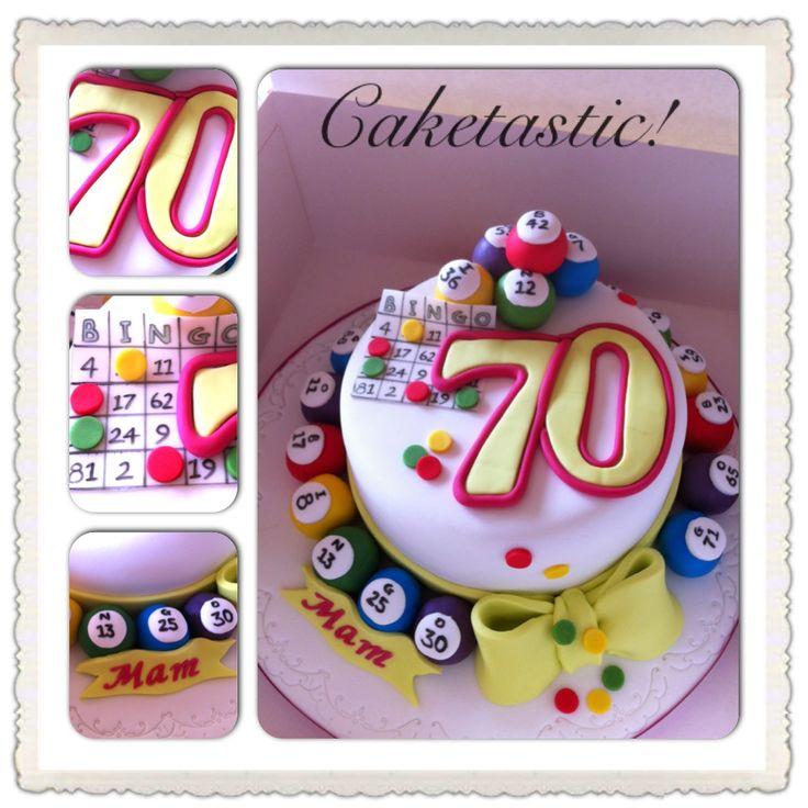 Bingo cake! https://www.facebook.com/pages/Caketastic/163765000425745?ref=hl