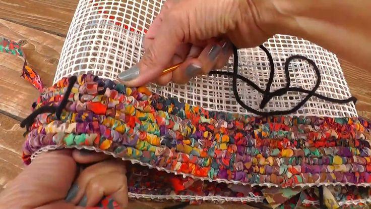Locker Hooking the Confetti Tote Bag