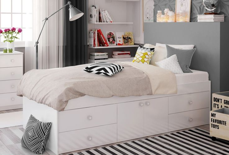 Kidsaw Arctic Multi Drawer Single Bed - Kids Beds