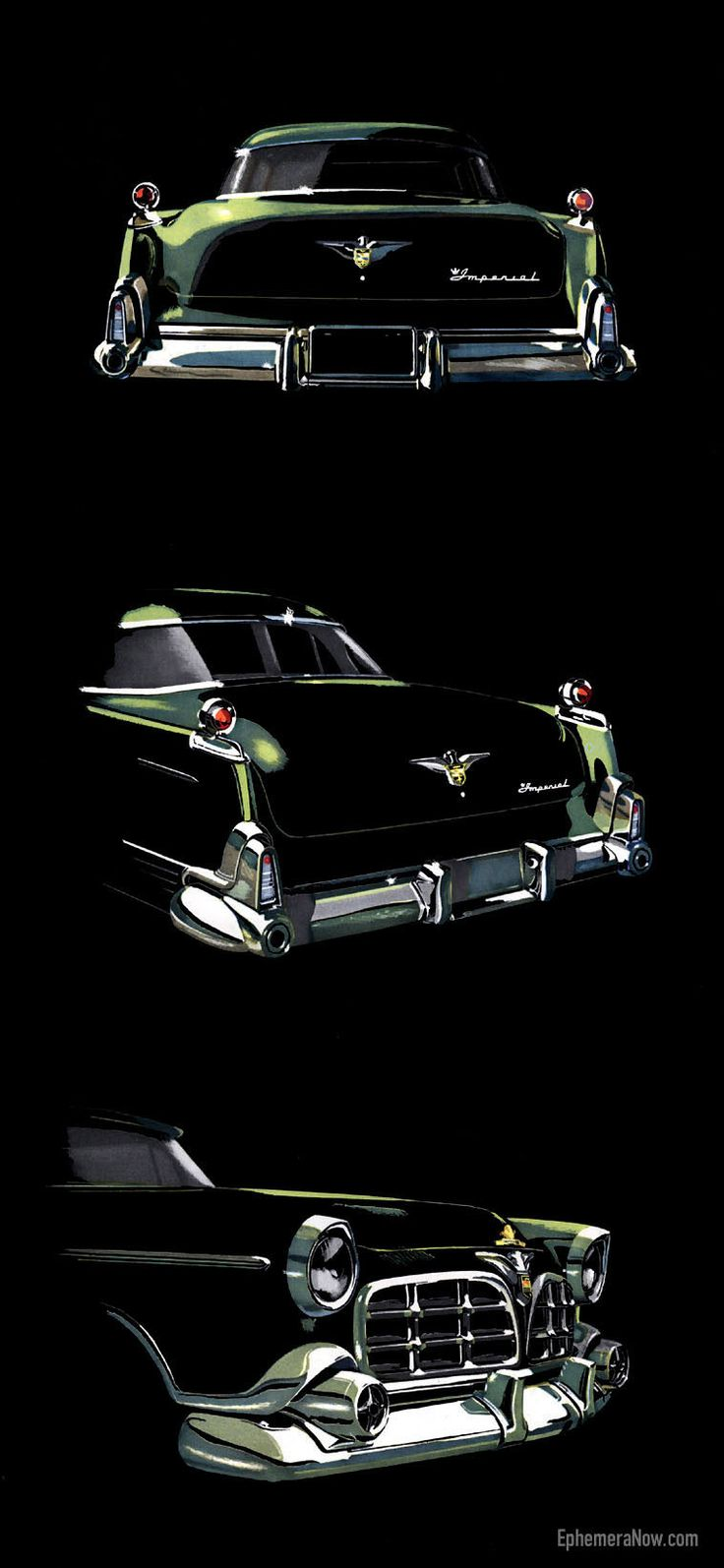 1955 Chrysler Imperial....Brought to you by House of Insurance Eugene, Oregon 97401 www.myhouseofinsurance.com