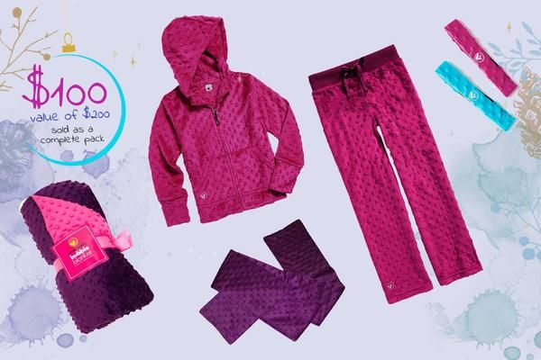Merry Bubble Pack from the #1 Girls Tween Brand Limeapple just in time for the holidays.